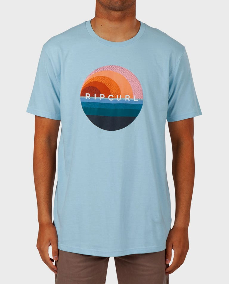 Glass-off Premium Tee in Crystal Blue