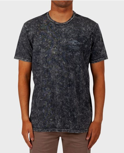 Surge Heritage Tee in Charcoal