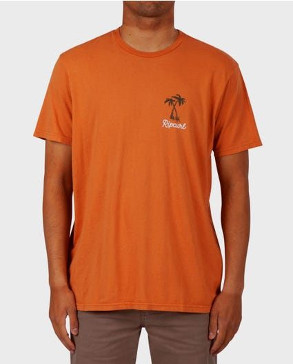Hula Time Standard Issue Tee in Clay
