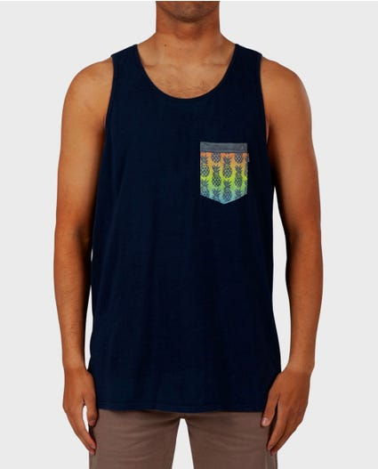 Fleet Heritage Pocket Tank in Charcoal