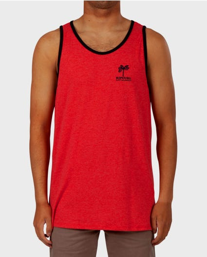 Nightmare XMAS Ringer Tank in Red
