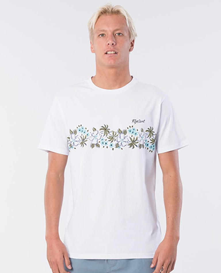 Da Vine Cotton Vaporcool Tee in White