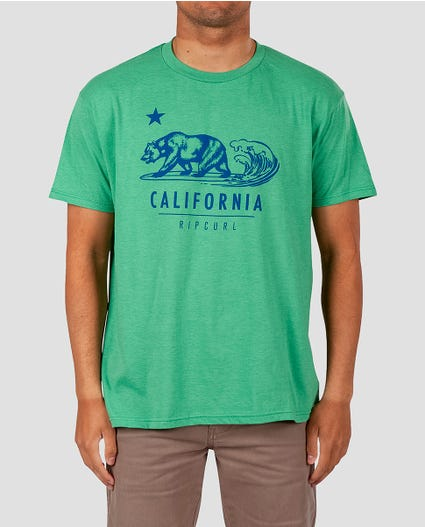 Bear-topia Premium Tee in Green