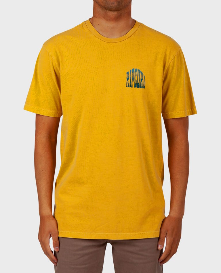 Entrance Standard Issue Tee in Mustard