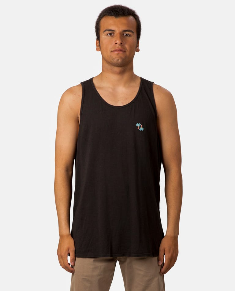Flare Heritage Tank in Black