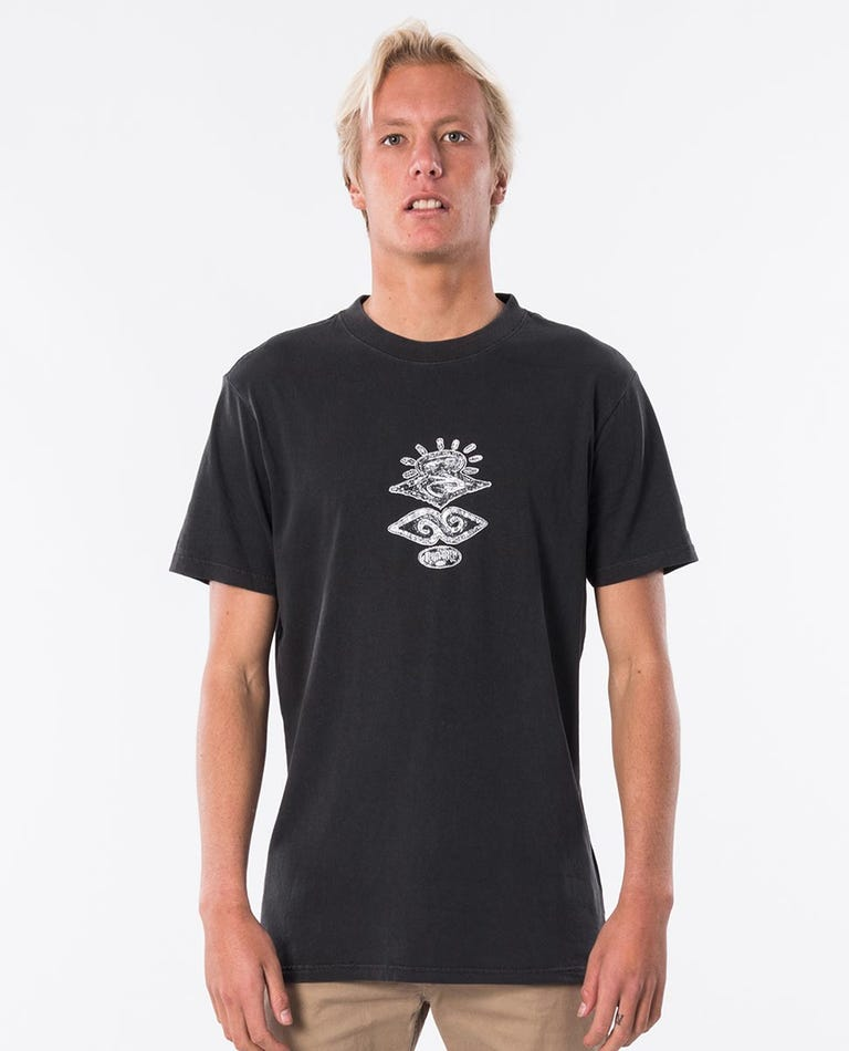 Ultimate Short Sleeve Tee in Washed Black