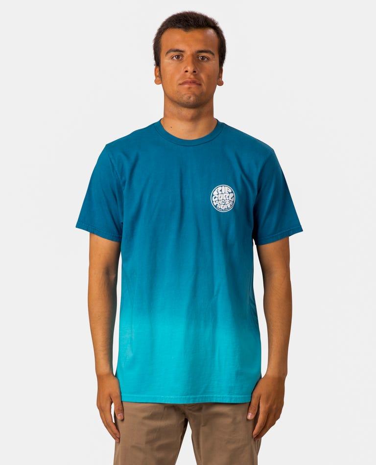Wetty Dip Standard Issue Tee in Blue