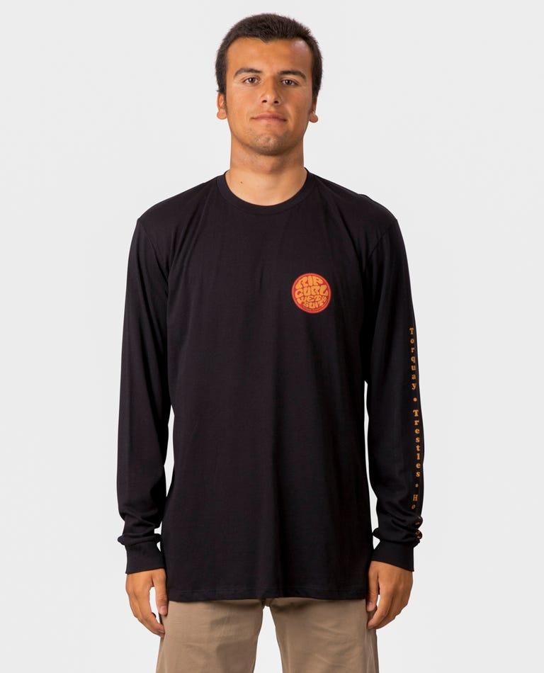 Passage Premium Long Sleeve in Black