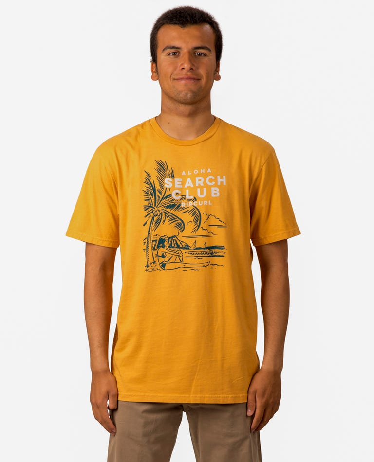 Sail On Heritage Tee in Gold