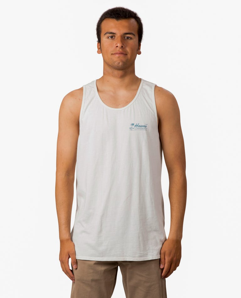 Velzy Land Heritage Tank  in Off White