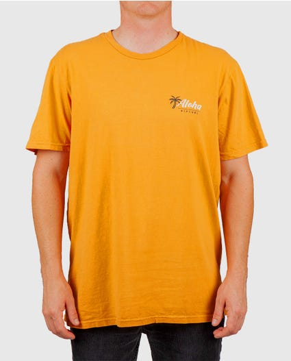 Search Aloha Heritage Tee in Gold