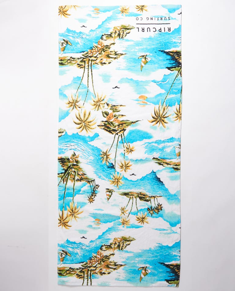 Surf Co Towel in White