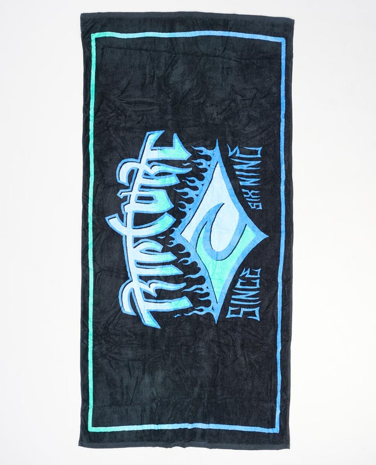 Icons Towel in Blue