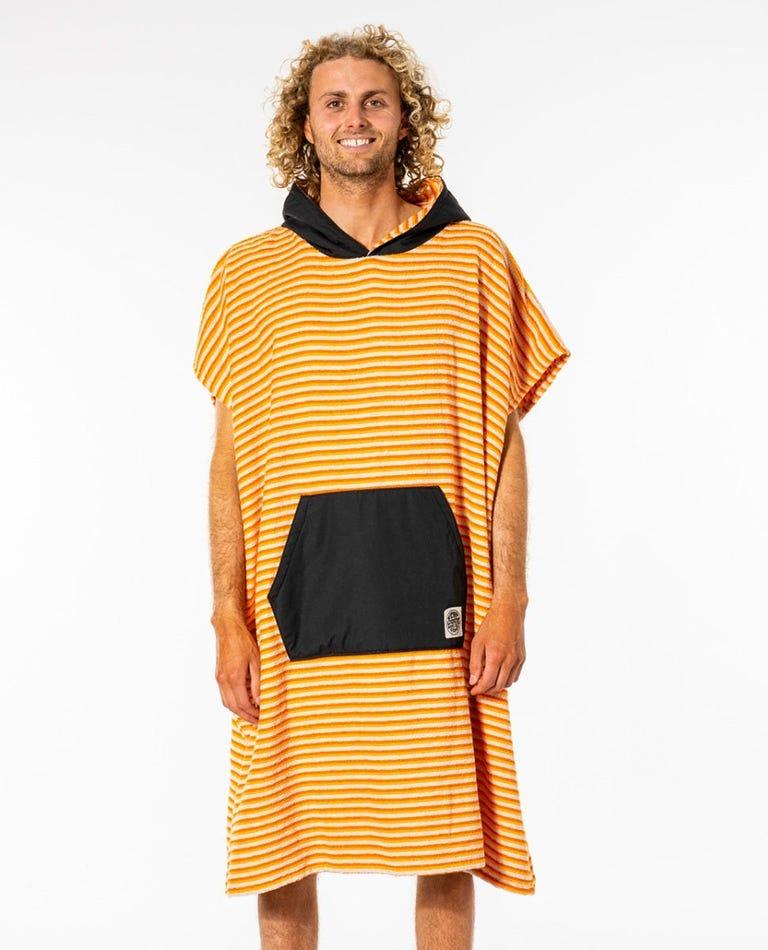 Surf Sock Hooded Towel in Orange