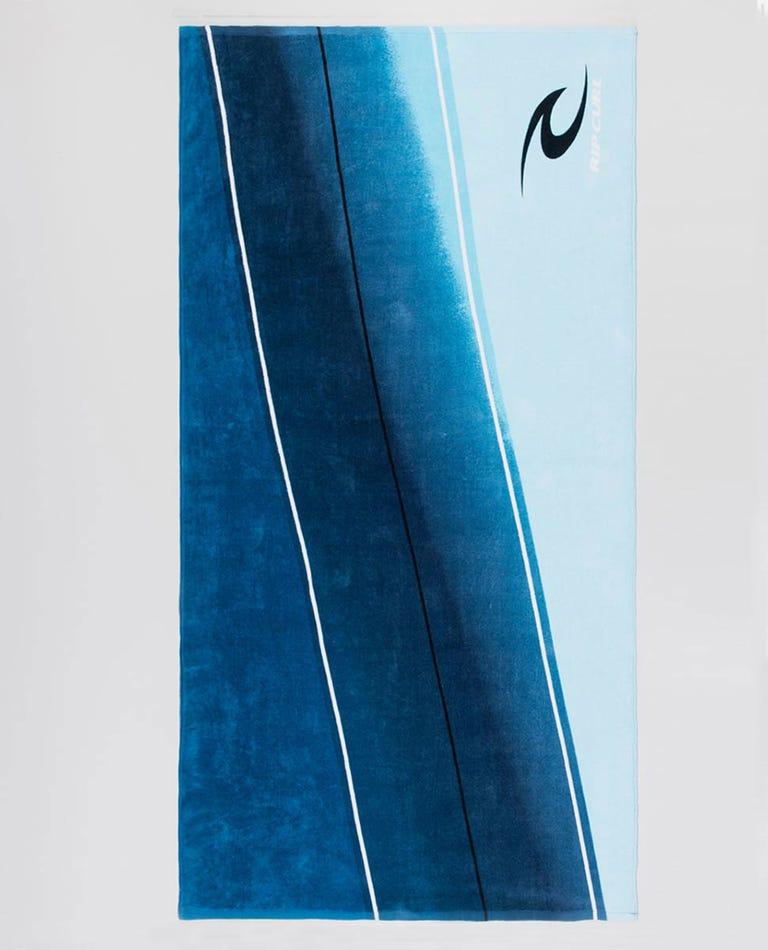Mavericks Towel in Blue River