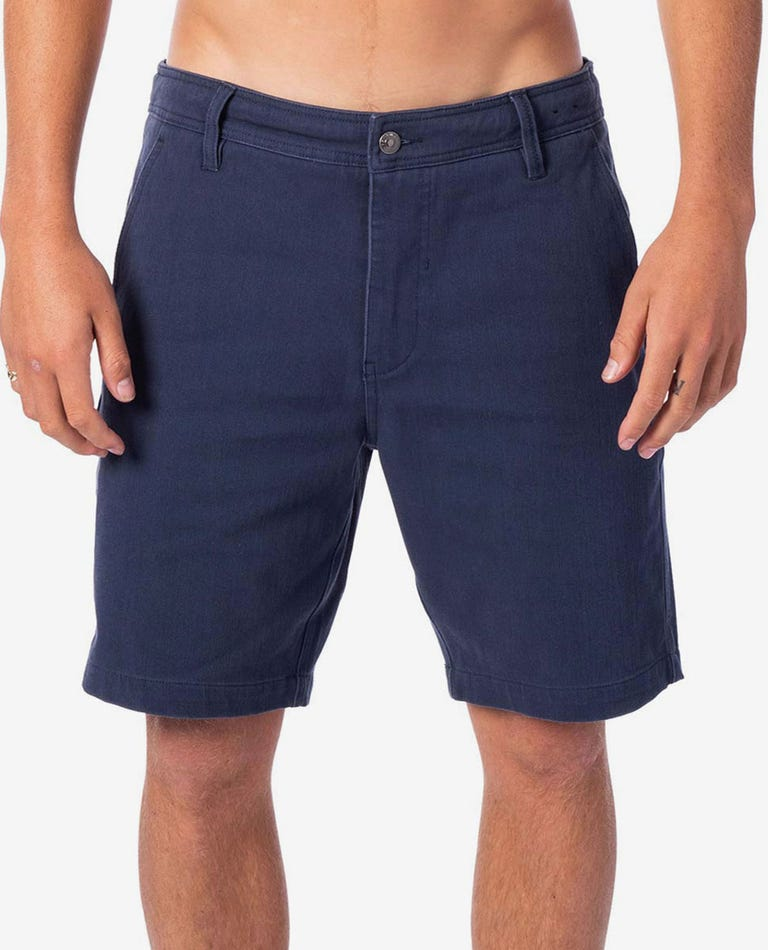 Searchers 19 Shorts in Indigo