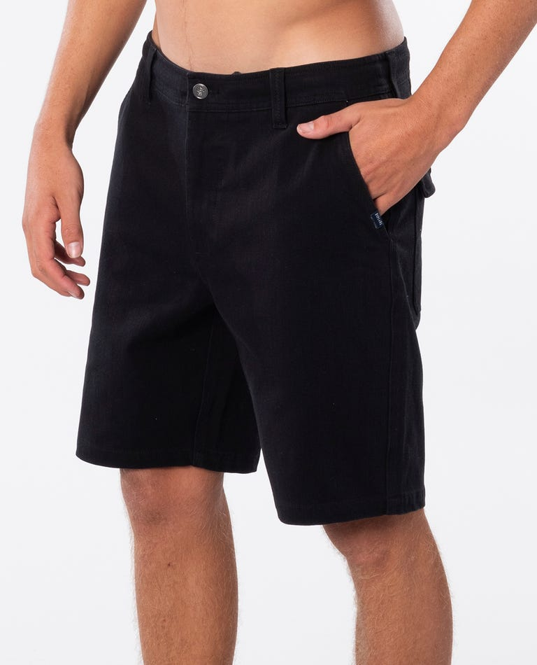Searchers 19 Shorts in Black