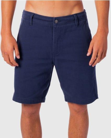 Searchers 19 Shorts in Indigo