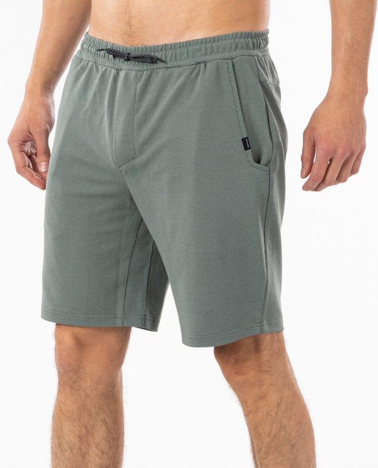 Nova Vapor Cool Shorts in Bluestone