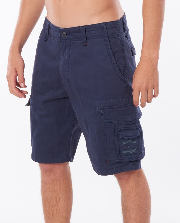 Trail Cargo 21 Walkshort in Navy