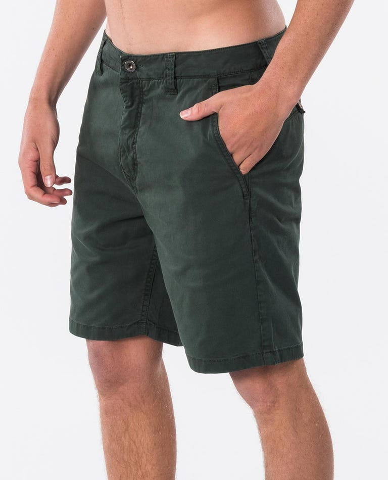 Savage 19 Shorts in Forest Green