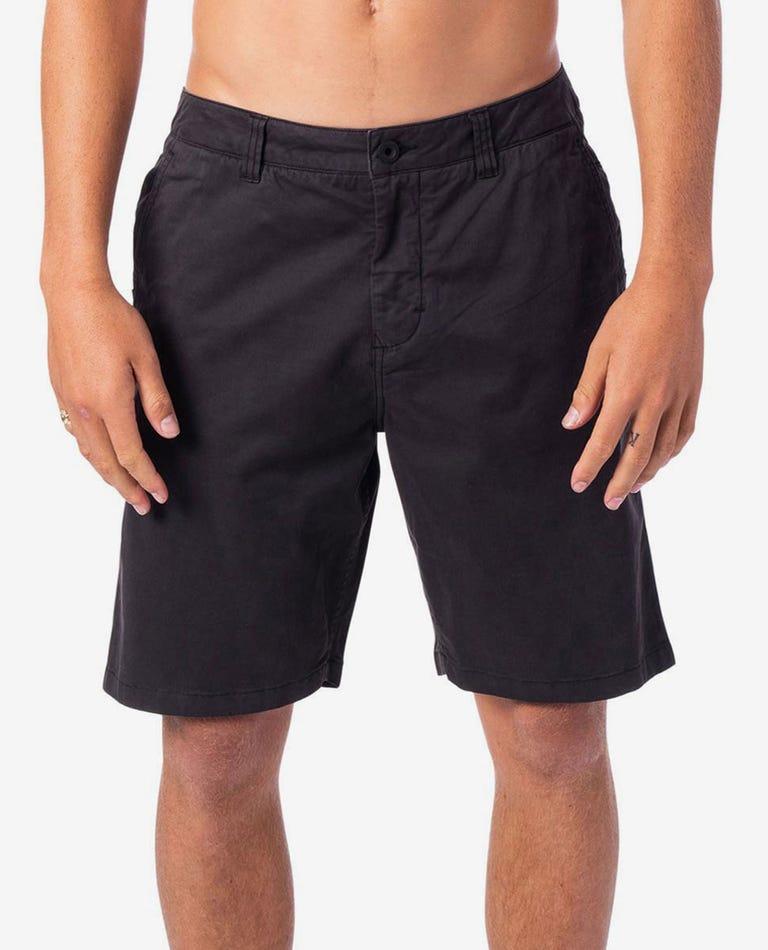 Savage 19 Shorts in Washed Black
