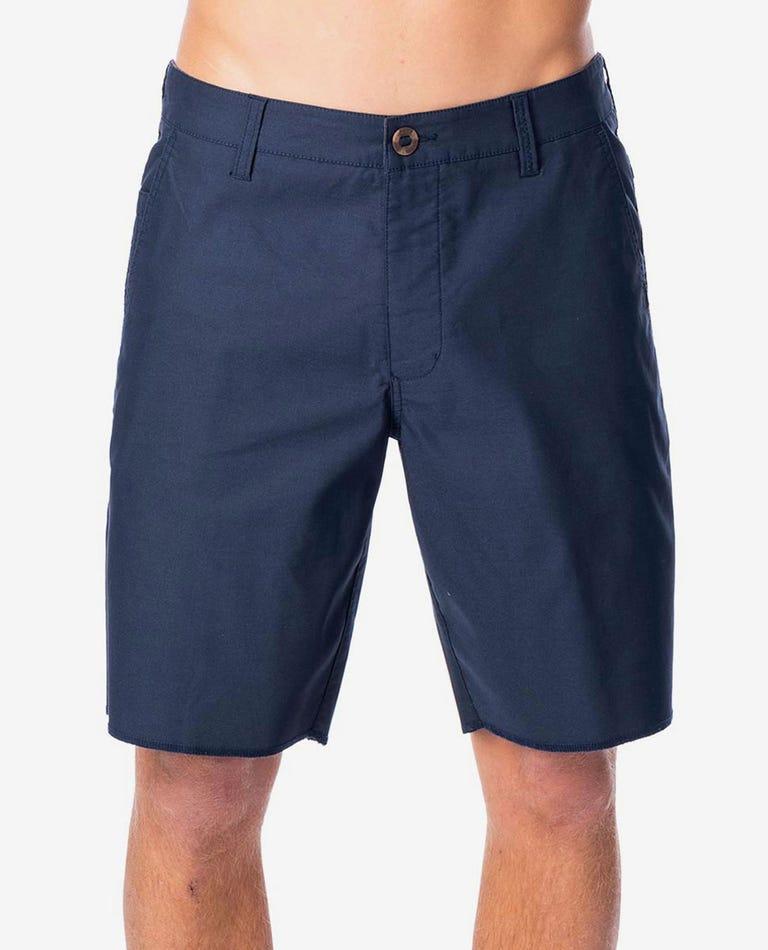 Hitcher 19 Boardwalk Short in Navy