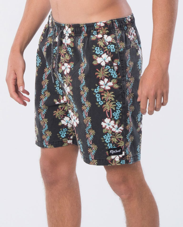 Davine 18 Boardwalk Short in Black