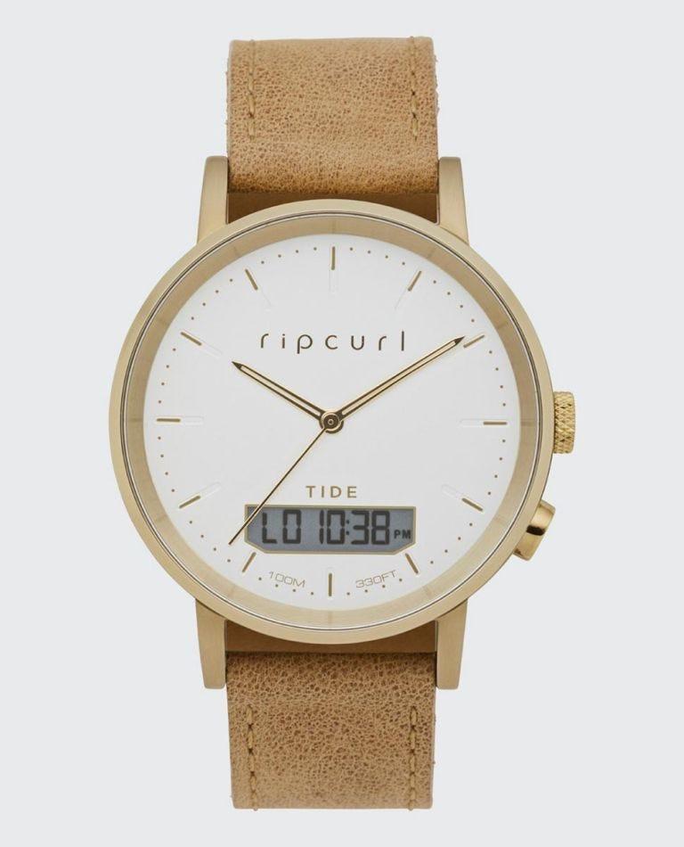 Circa Tide Digital Watch in Gold