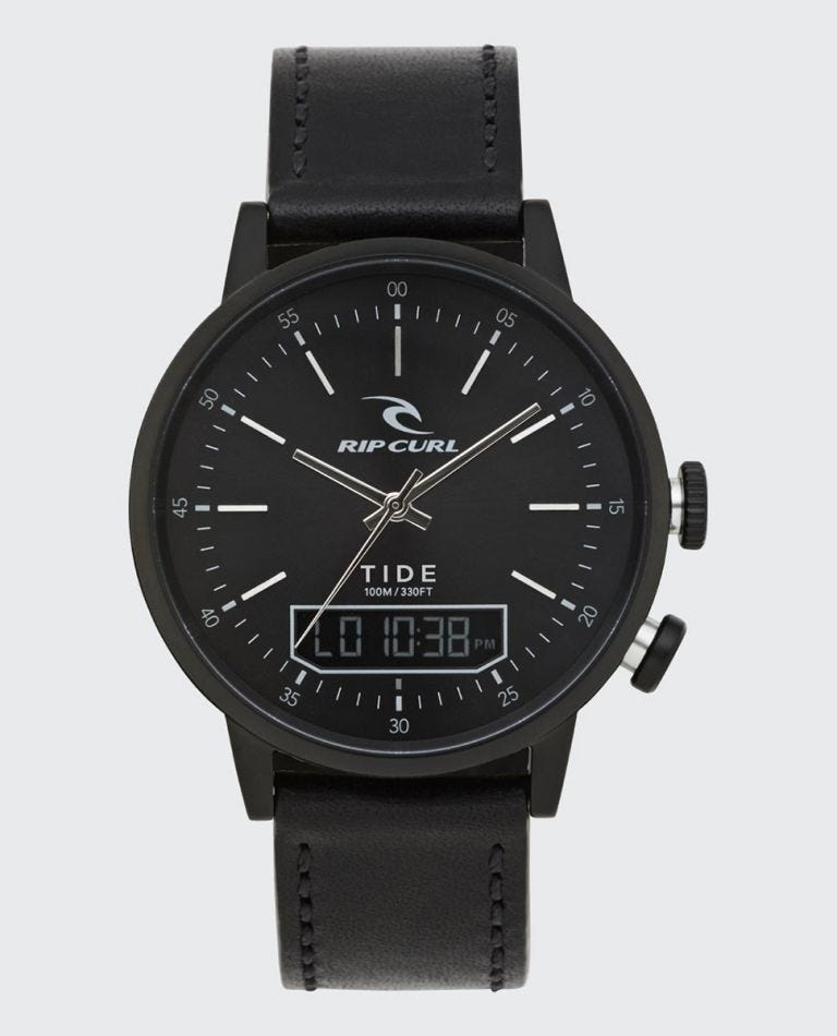 Drake Tide Digital Watch in Midnight