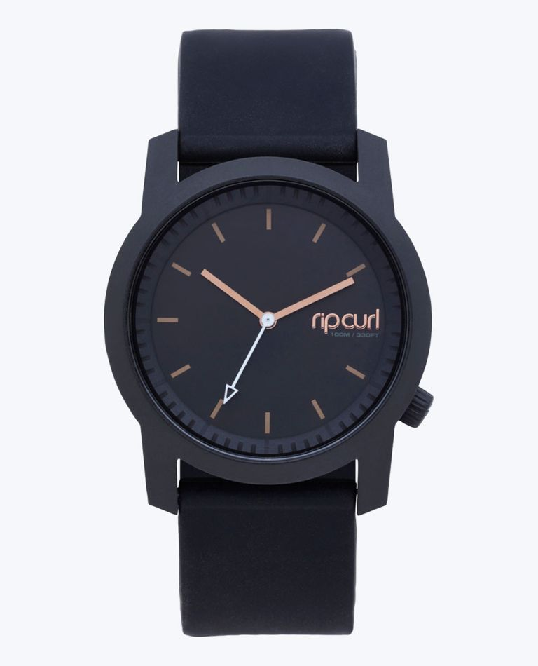 Cambridge Girls Silicone Watch in Black