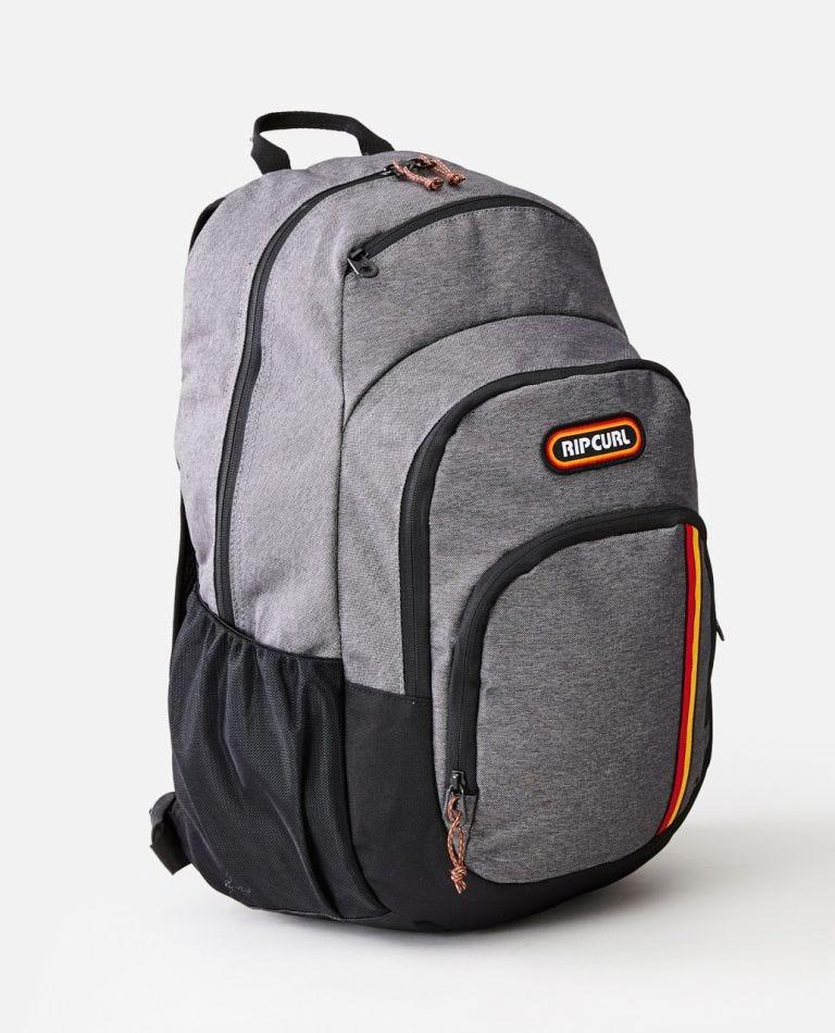 Overtime 33L Surf Revival Backpack in Black