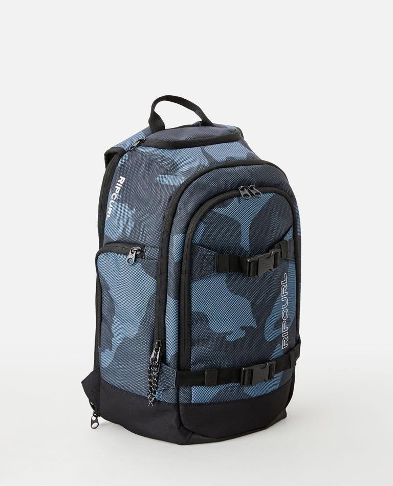 Posse 33L Camo Backpack in Slate Blue