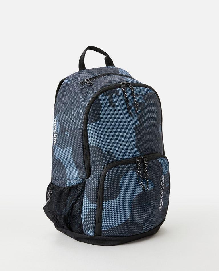 Evo Camo 24L Backpack in Slate Blue
