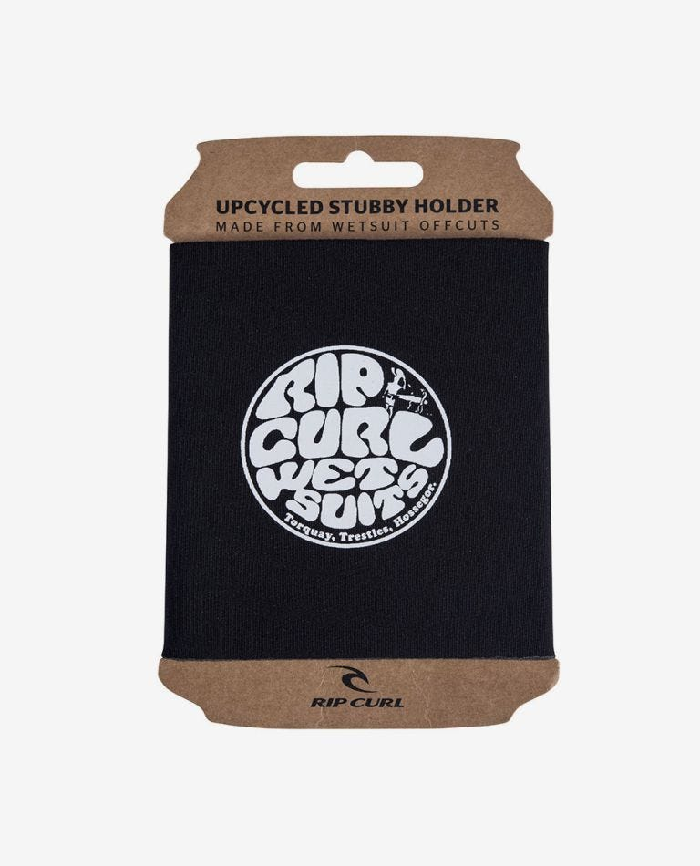 Upcycle Stubby Holder in Black
