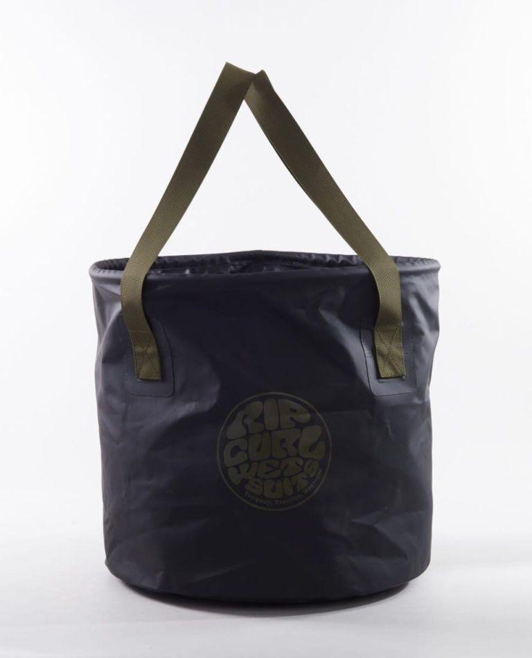 Surf Series 50L Bucket Bag in Black