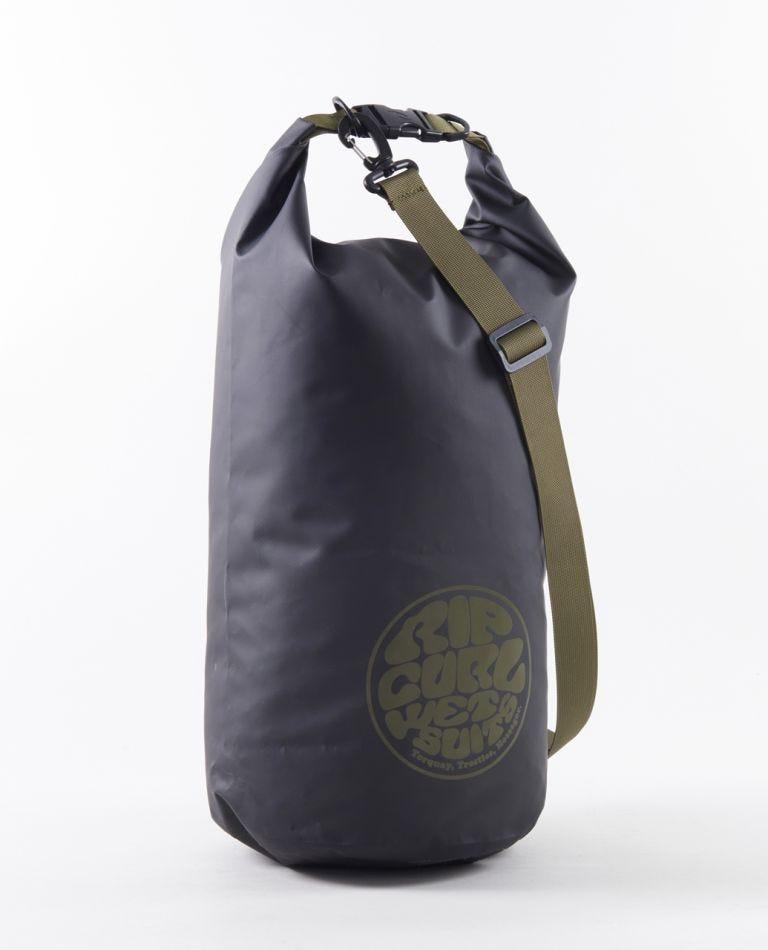 Surf Series 20L Barrel Bag in Black