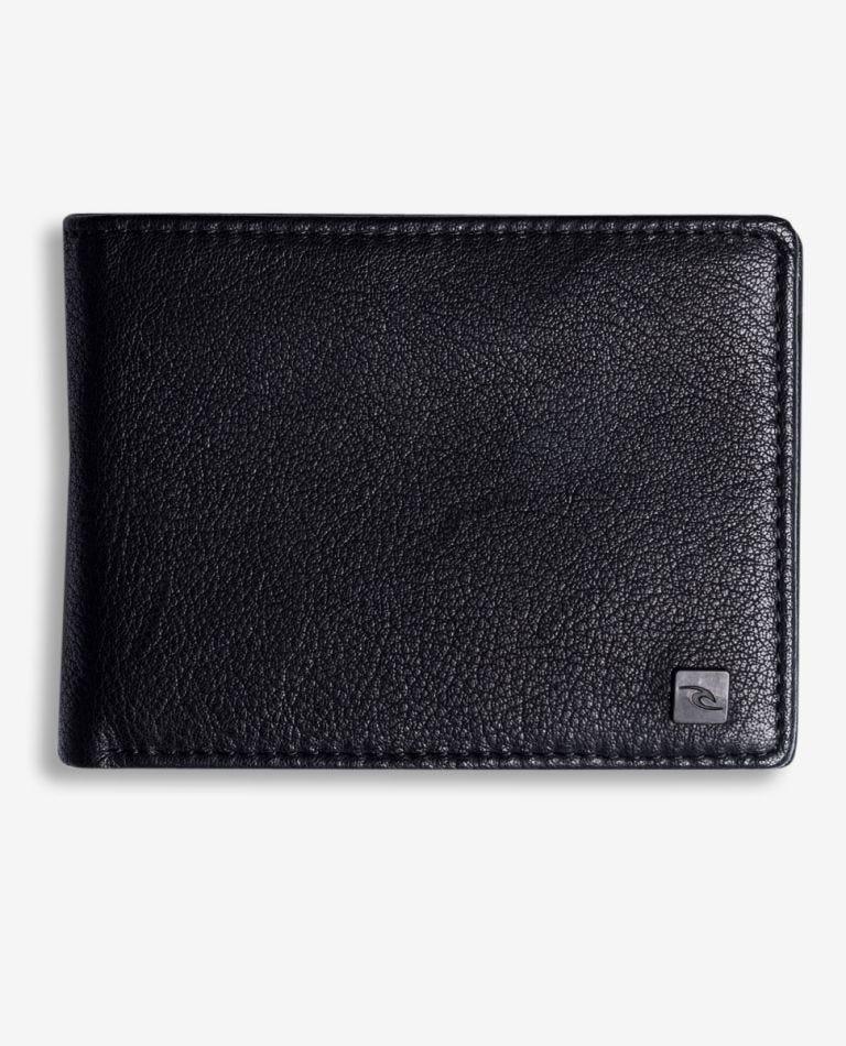 K-Roo RFID Slim ZF Leather Wallet in Black