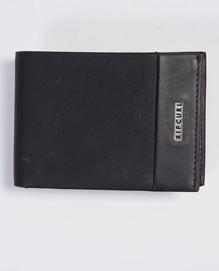 Covert RFID Slim Wallet in Black