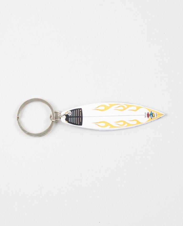 Surfboard Keyrings in Orange