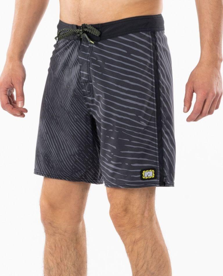 Mirage Mind Wave 18 Boardshorts in Washed Black