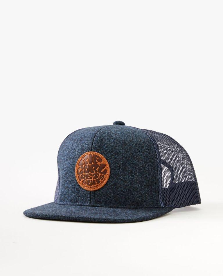 Premium Wetty Trucker Hat in Navy