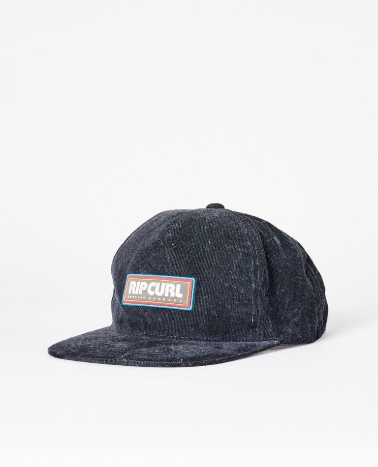 Revival Snapback Cap in Black