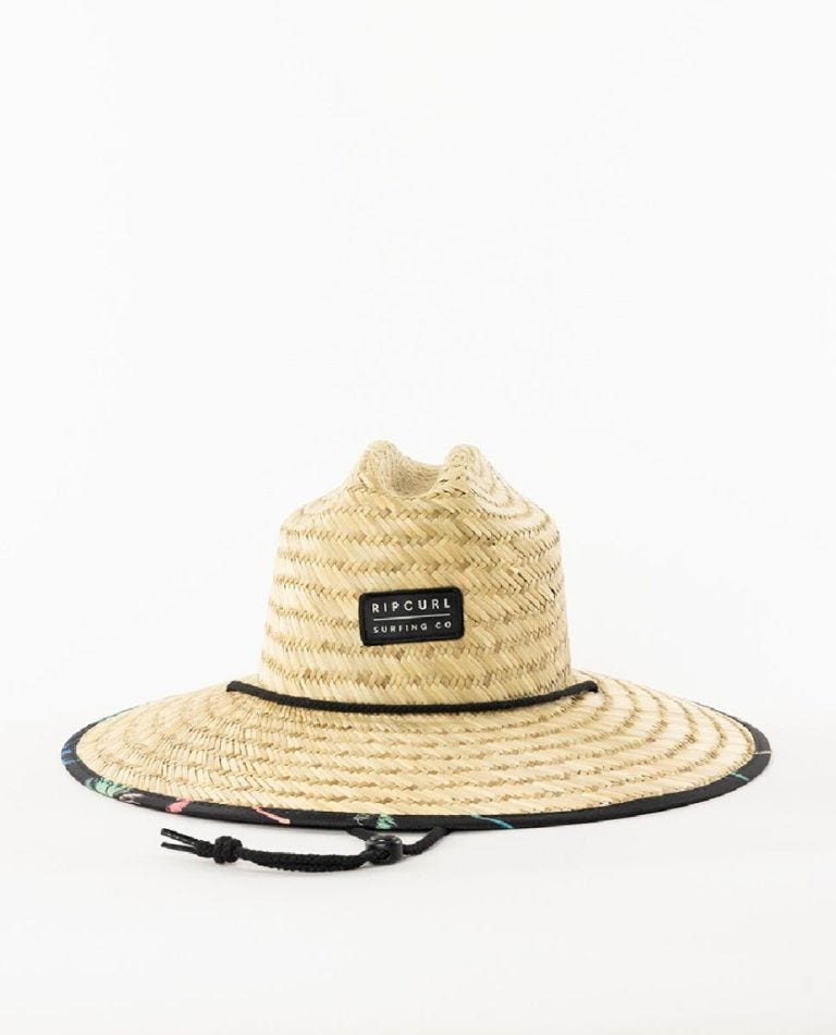 Mix Up Straw Hat in Multico