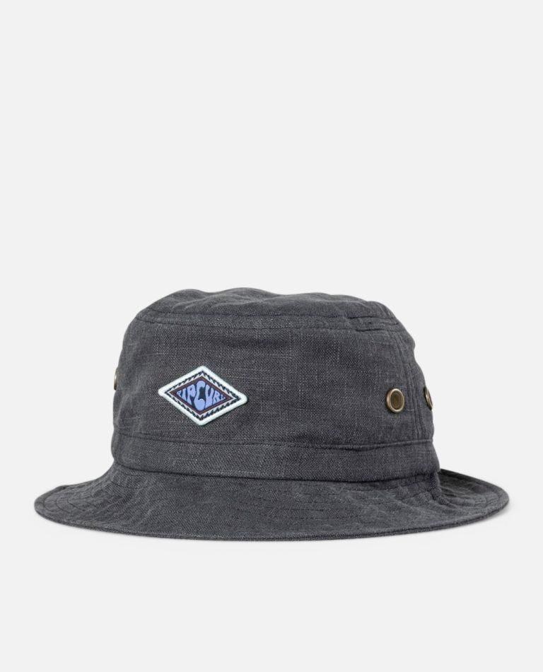 SWC Eco Bucket Hat in Black