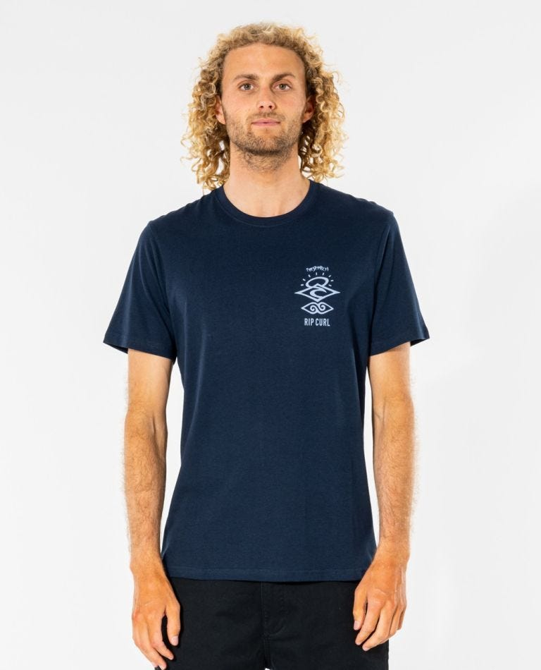 Search Essential Tee in Navy