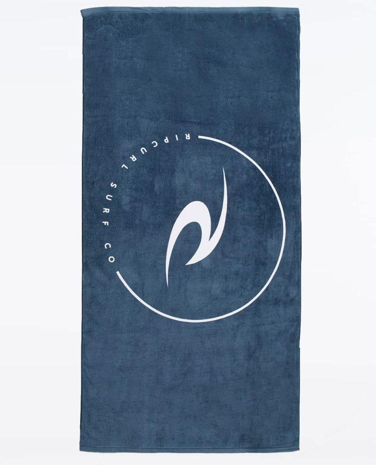 Premium Icon Towel in Slate Blue