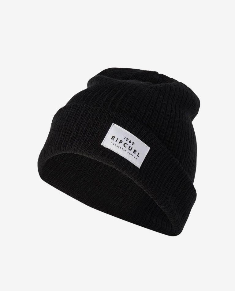 Essentials Beanie in Black