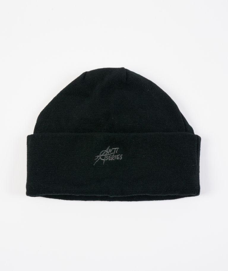 Anti-Series Beanie in Black