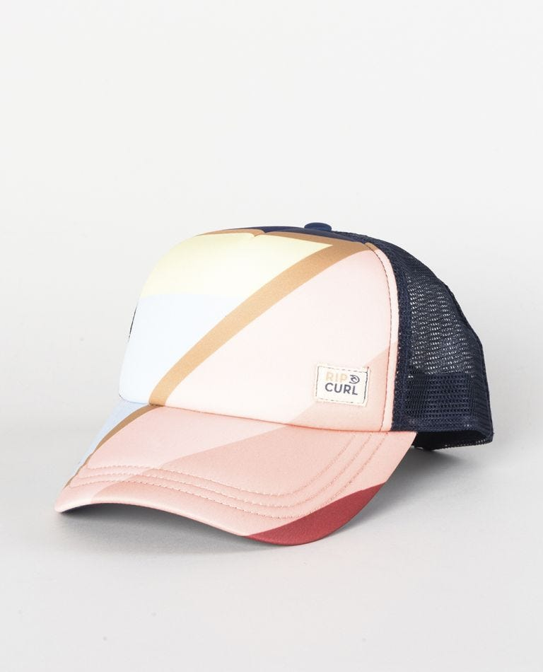Sunsetters Trucker Cap in Dark Blue